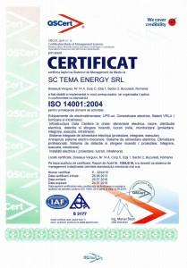 ISO14001 - Management de Mediu