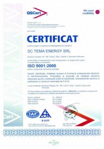 ISO9001 - Management-ul Calitatii
